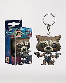 Rocket Keychain - Guardians of the Galaxy