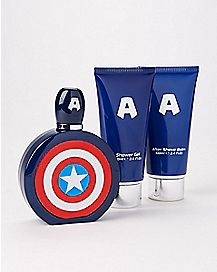 Captain America Fragrance Gift Set - Marvel Comics