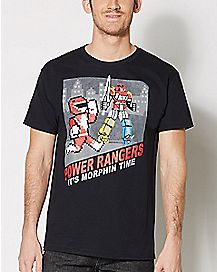 Power Rangers Video Game T Shirt