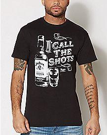 I Call The Shots Jim Beam T Shirt