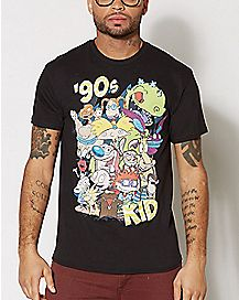 90's Kid T Shirt - Nickelodeon