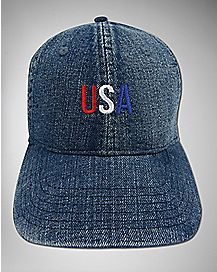 USA Denim Dad Hat