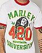 Marley University Bob Marley T Shirt
