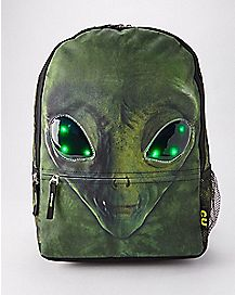Light Up Alien Backpack