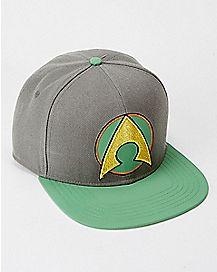 Matte Aquaman Snapback Hat
