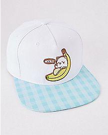 Bananya Snapback Hat