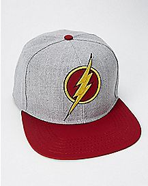 Matte The Flash Snapback Hat - DC Comics