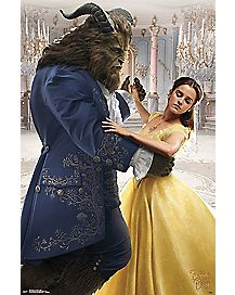 Dancing Beauty and the Beast Poster - Disney
