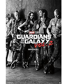 Group Guardians of the Galaxy Poster - Marvel