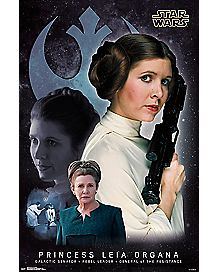 Princess Leia Poster - Star Wars