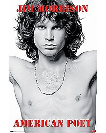 American Poet Jim Morrison Poster