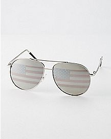 Americana Tear Drop Aviator Sunglasses