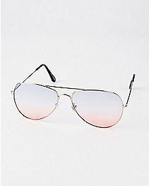 Americana Ombre Lense Aviator Sunglasses