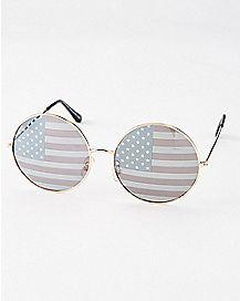 Round Americana Sunglasses