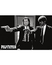 Jules and Vega Pulp Fiction Poster