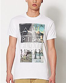 Collage Pink Floyd T Shirt