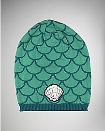 Shell Mermaid Beanie Hat