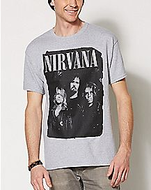 Group Nirvana T Shirt