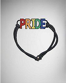 Rainbow Pride Elastic Bracelet