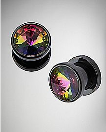 Rainbow-Effect Gem Plugs