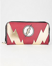 The Flash Zipper Wallet - DC Comics