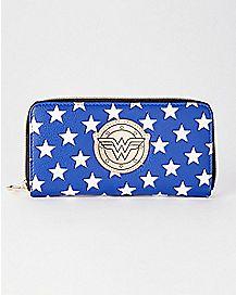 Wonder Woman Zipper Wallet - DC Comics