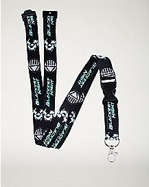 Blackest Night Lanyard - DC Comics