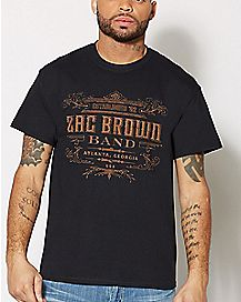 Est. '02 Zac Brown Band T Shirt