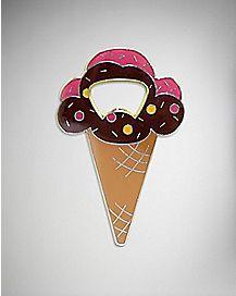 Ice Cream Cone Bottle Opener