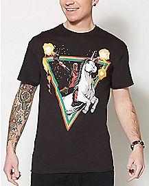 Unicorn Deadpool T Shirt - Marvel