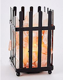 Picket Fence Himalayan Salt Lamp 6-7.5 lbs.