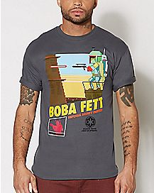 Boba Fett T Shirt - Star Wars