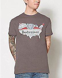 United States Budweiser T Shirt