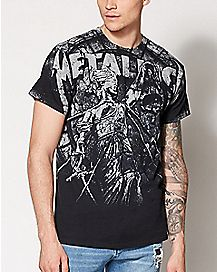 Stoned Justice Metallica T Shirt