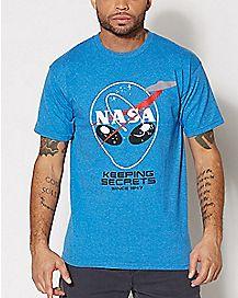 Keeping Secrets Nasa T Shirt