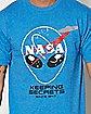 CMT-Keeping Secrets Nasa T Shirt