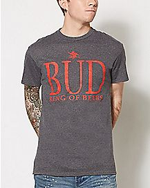 Bud King Of Beers T Shirt