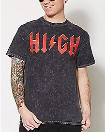 Lightning Bolt High T Shirt
