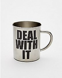 Deal With It Coffee Mug - 16 oz.