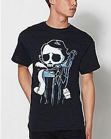 Amuku Ink Edgar Allen Poe T Shirt