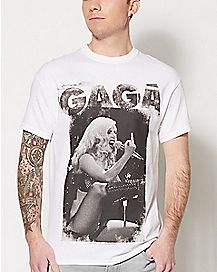 Middle Finger Lady Gaga T Shirt