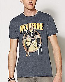 Wolverine Vintage Gray T Shirt