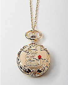 Belle Pendant Watch - Beauty And The Beast