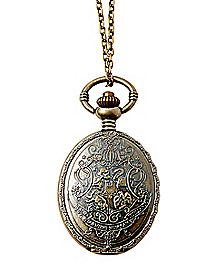 Houses Harry Potter Pocket Watch Pendant Necklace
