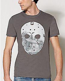 Landscape Jason Mask T Shirt