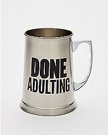 Done Adulting Mug