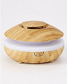 Lily Bamboo-Effect Oil Diffuser