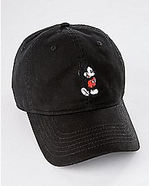 CO BLK MICKEY MOUSE DAD HAT