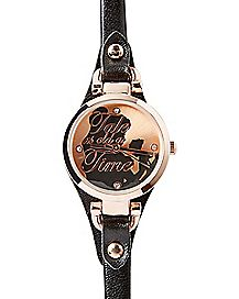 Skinny Strap Beauty and the Beast Belle Watch