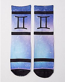 Gemini Zodiac Crew Socks